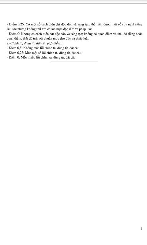 Đề Thi Thử Môn Văn THPT 2015 Ng7